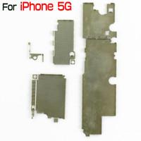 iphone 5g kurulu toptan satış-IPhone 5 5G için Marka Yeni Anakart Ana Kurulu Metal Kapak Shield iPhone5 Çin Post Perakende Toptan için Onarım Bölümü