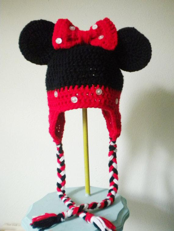2019 Minnie Mouse Crochet Hat Toddler Baby Girls Boys Hat Panda Animal  Crochet Winter Hand Knitted Beanie Beret Mix Style From Dhwholesale2010 059400c8020