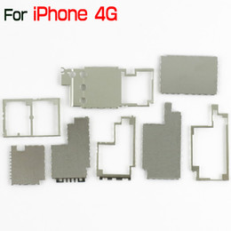 Apple Motherboards Canada - for iPhone 4 4G Brand New Motherboard Main Board Metal Cover Shield Repair Part for iPhone4 China Post Retail & Wholesale