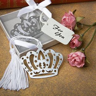 """Hot Sale Graduation Celebration Favors Christmas Gifts Wedding Party Gifts Stainless steel Bookmark Favors With tassel and""""For You""""Tag Gifts"""