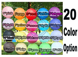 Wholesale Lanterns For Birthday Party - wholesale retail 8 inch 20cm Round Chinese Paper Lantern for Birthday Wedding Party Decoration gift craft DIY