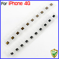 Wholesale Iphone Audio Power - For IP4 IP4S Power Sleep Button Power Switch Spring Piece Terminal Sticker For iPhone 4 4S Power Flex Cable Headphone Audio Jack Flex Cable