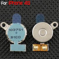 marcas de vibradores al por mayor-para iPhone 4S Nueva parte de reparación de vibradores para iPhone4S Venta al por menor de China Post