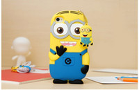 Wholesale Itouch5 Cases - 3D Despicable Me Soft Silicon Silicone case iphone4 4s iphone5 5s itouch4 itouch5 iphone4 4s iphone5 5s itouch4 itouch5