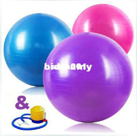 Wholesale Hot Sale cm Stability Exercise Yoga Gym Fitness Ball kg Anti Burst Green Blue Pink Purple
