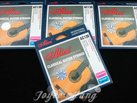 Wholesale guitar nylon resale online - 3 Sets of Alice AC130 Hard Tension Nylon Classical Guitar Strings Excellent Clear Nylon Strings Wholesales