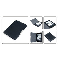 Wholesale Paperwhite Cases - S5Q Colourful Slim Crazy-horse PU leather Magnetic Folio Case Cover For Kindle Paperwhite AAACDZ