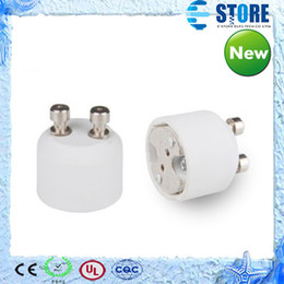 Wholesale Mr16 Bulb Adapter - GU10 to MR16 lamp socket adapter,MR16 to GU10 bulb adapter,GU10 male to MR16 female Free Shipping, s