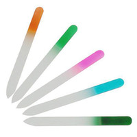 Wholesale S5Q x Durable Crystal Glass Shiner Manicure Nail Art File Kit Buffer Tool New AAABAU