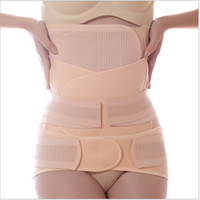 pains pregnancy - Hot Sale Maternity Postnatal Pelvic Support Waist Stomach Belt Set During After Pregnancy Pain Relief