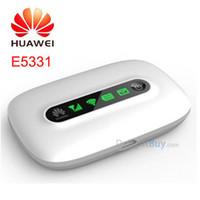 Wholesale huawei hotspot wifi - Huawei E5331 Wireless hotspot Hspa Pocket Wifi MIFI 21mbps 3G wifi Wireless hotspot Router Modem mobile broadband 4G Router