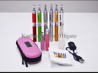 Wholesale Ego T New Style - MT3-2 Kits NEW Style MT3-2 Atomizer Ego t 650mah 900mah 1100mah Eletronic Cigarette E Cigarette 1 Atomizer mt3 2.4ml 1 Battery Various Color