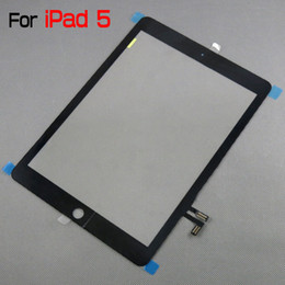 $enCountryForm.capitalKeyWord NZ - For iPad Air Genuine Digitizer for iPad 5 Touch Panel Screen by DHL EMS MOQ3 PCS New Arrival