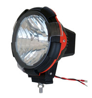 Wholesale Off Road Hid Driving Lights - 7 inch HID Off Road Light ,Red Ring HID Headlight, 4x4 Driving light quality,hight for SUV
