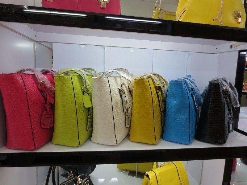 Discounted lederne Handtaschen Frauenart und weisekrokodil sackt Multifunktionsrindledertaschen 30 * 28 * 12cm schnelles freies Verschiffen ein