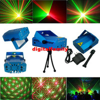 Wholesale High Quality Stage Lasers - Retail High Quality New Blue Mini LED Laser Projector DJ Disco Bar Stage House Lighting Light Galaxy
