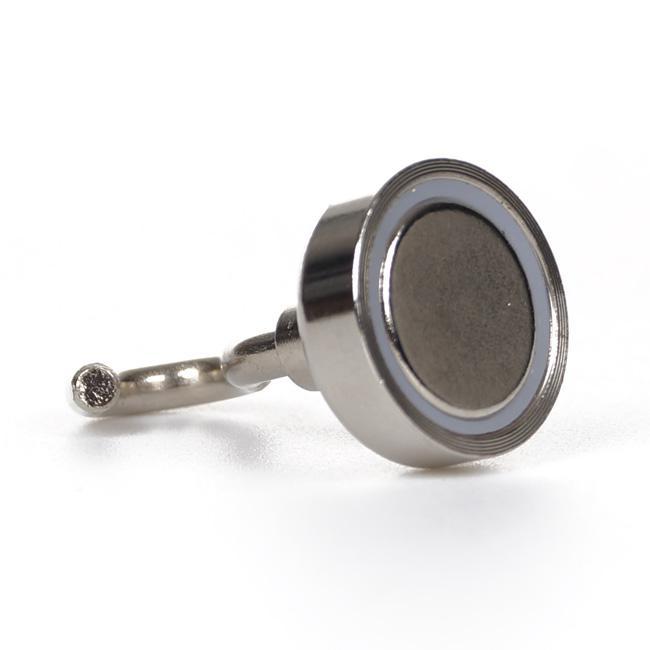 5 قطعة / الوحدة 20 ملليمتر ضياء. خطافات مغناطيسية ، حامل مفتاح كأس مغناطيس نيوديميوم يحمل كل منها ما يصل إلى 28 رطلًا # BK017CF