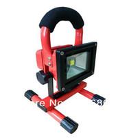 kit de inundação venda por atacado-Poder superior sem corda recarregável portátil da lâmpada IP65 do trabalho ao ar livre do jogo da emergência da luz de inundação do diodo emissor de luz 10W