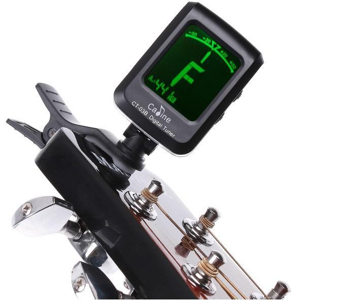 LCD Clip-on Guitare Numérique Guitare Chromatique Basse Violon Ukulele Accordeur I96 Livraison Gratuite