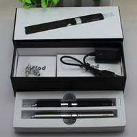 evod kit presente venda por atacado-Duplo eVod BCC MT3 kits de caixa de presente Starter Kit cigarro Eletrônico com mt3 Recarregável atomizador eVod Bateria 650 mah 900 mah 1100 mah DHL livre