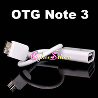 Wholesale Note Micro USB OTG Host Flash Disk Cable for Samsung Galaxy Note3 N9000