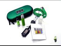 Wholesale E Cigarette Battery Lanyard - eGo CE4+ electronic cigarette kits CE4 plus Atomizer 650mah 900mah 1100mah battery e cigarettes with Lanyard ego Zipper Case 10ml bottle