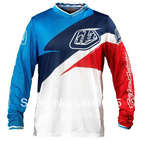 Wholesale - No.6681 Troy Lee Designs TLD GP Air Stinger Motocross Jersey MX  MTB DH Cycling Bicycle Cycle Bike Jersey T-shirt Clothing Wear Long Sleeve  ... a68eb25f3