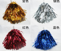 Wholesale Cheerleading Wholesalers - Cheering pom poms Cheerleading products Color 25g 50pcs lot dropshipping