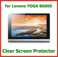 """Wholesale New Lenovo Tablet Pc - 10pcs New Arrival Clear Screen Protector for 8"""" Tablet PC Lenovo YOGA B6000 Protective Guard Film"""