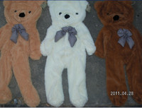 Wholesale Empty Teddies - Empty plush toys teddy bear toys skin Stuffed Animals 3 colours