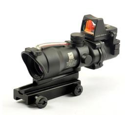 $enCountryForm.capitalKeyWord UK - Trijicon TA31 ACOG Style 4X32 Real Fiber Source Red Illuminated Scope w  RMR Micro Red Dot