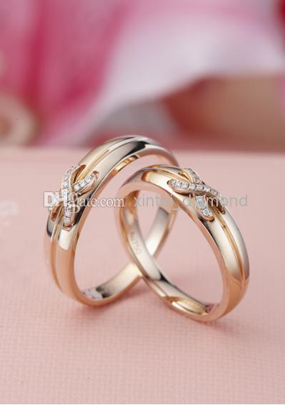 real rose gold rings