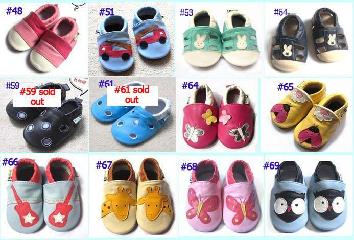 2019 Leather Sandals Genuine Leather Baby SHOES Shoe Booties Sandals ... e3918ed6b128
