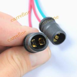 Douille d'ampoules en plastique en Ligne-LED en plastique souple T10 W5W 194 5050 ampoule lampe adaptateurs de câble support Socket 50pcs / lot livraison gratuite!
