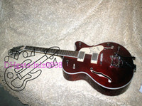 Wholesale Cheap Hollow Body Guitars - New Arrival Brown 6120 Hollow Jazz Guitar with OEM Cheap