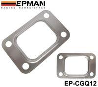 Wholesale T25 Flange - EPMAN T25 T28 GT25 GT28 GT2876 Turbo Turbine Exhaust Inlet Manifold Flange Gasket 304 Stainless Steel EP-CGQ12