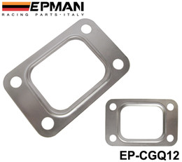 Wholesale Turbocharger Manifold - EPMAN T25 T28 GT25 GT28 GT2876 Turbo Turbine Exhaust Inlet Manifold Flange Gasket 304 Stainless Steel EP-CGQ12