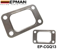 Wholesale Turbocharger Manifold - EPMAN T3 T34 T35 T38 GT35 GT35R Turbo Turbine Inlet Manifold Gasket 304 Stainless Steel EP-CGQ13