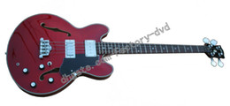 Wholesale G 335 Guitar - 2014 New Arrival G 335 red bass Electric bass Guitar Free shipping
