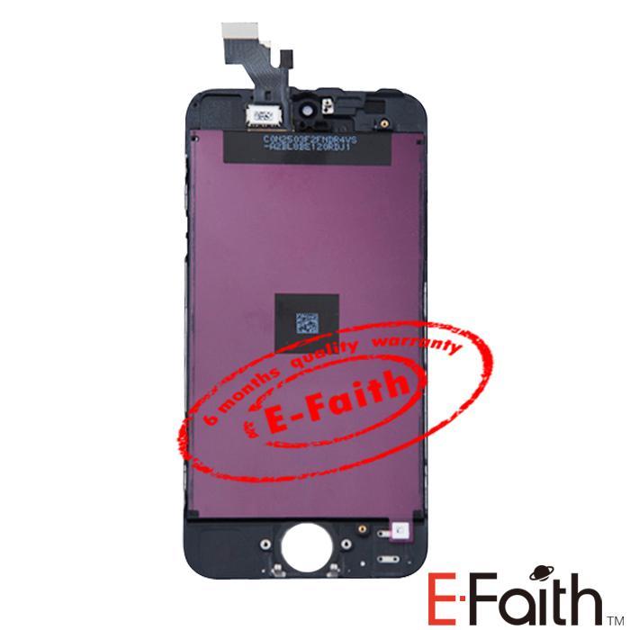 ホワイトiPhone 5 LCDディスプレイタッチスクリーンデジタイザのデジタイザのデジタイザの完全な組み立て