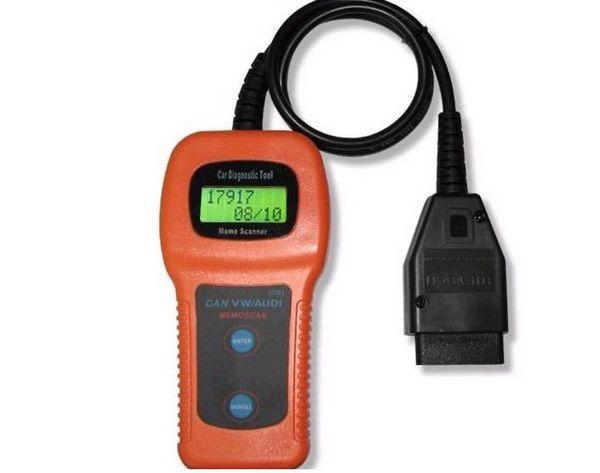 1PC NO15 U280 OBD2 CAN BUS Code Scanner OBDII Engine Code Reader Car Diagnostic Scanner OBD2 U280 for VW AUDI