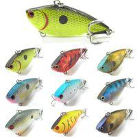 Wholesale Hard Lures Lipless - Fishing Lure Body Lipless Trap Crankbait Hard Bait Fresh Water Sinking Bass Walleye Crappie Minnow Fishing Tackle L540
