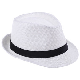 7fb6cde8d Wholesale Fedora Hat White - Buy Cheap Fedora Hat White 2019 on Sale ...