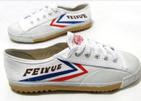 Wholesale Kung Fu Shoes Free Shipping - free shipping Feiyue Ultra light canvas sneaker shoes for Men and Women, for Kung fu, martial arts and casual sport Classic black and White