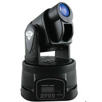 gobo spot light geführt großhandel-Mini LED Moving Head Licht Spot RGB Bühnenbeleuchtung Party DJ Disco Club 15W RGB Multicolor Ändern DMX Controller Mini Gobo Spot Wash Light