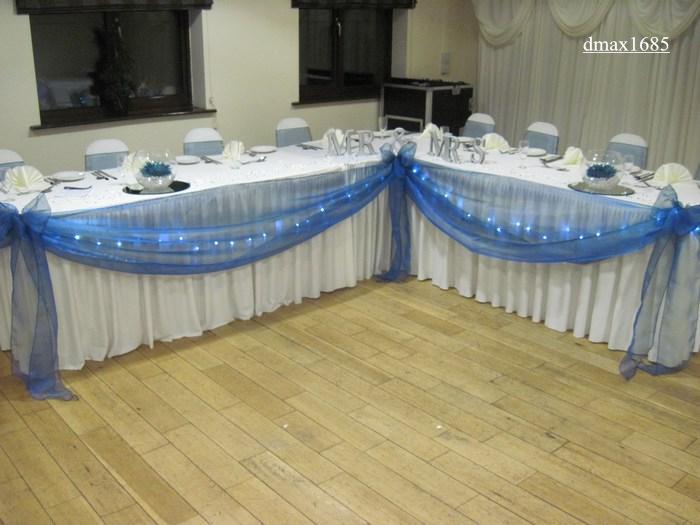 Organza Backdrop + Romantic Swag For Wedding, Wedding