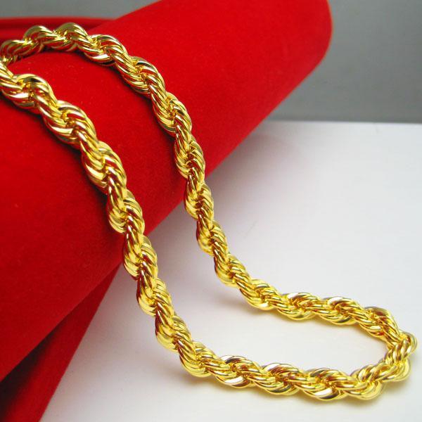 Wholesale Men S Gold Shop Gold Necklace With Female Models