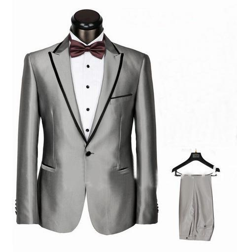 Online Cheap Mens Wedding Prom Suits New Tuxedo Suit With Pants ...