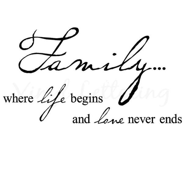 Al por mayor - Familia donde comienza la vida y el amor nunca termina 12.5