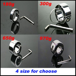 Wholesale Steel Balls Stretcher Ring - Stainless Steel Ball Stretcher Dragon Cock Rings Chastity Male Scrotum Bondage Device Adult Sex Toys Testicle Stretcher Ball Weight